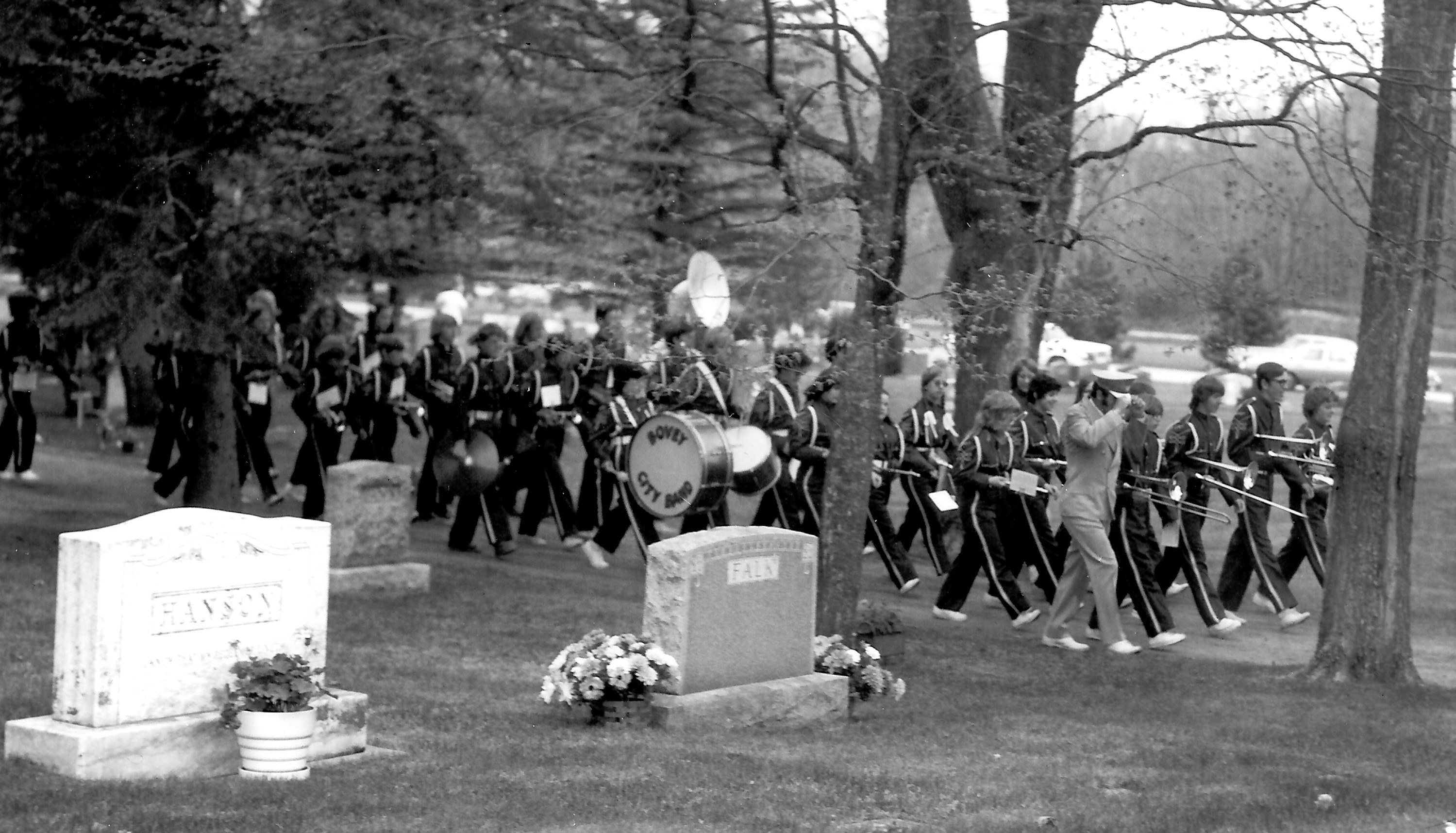 Band Cemetery Parade