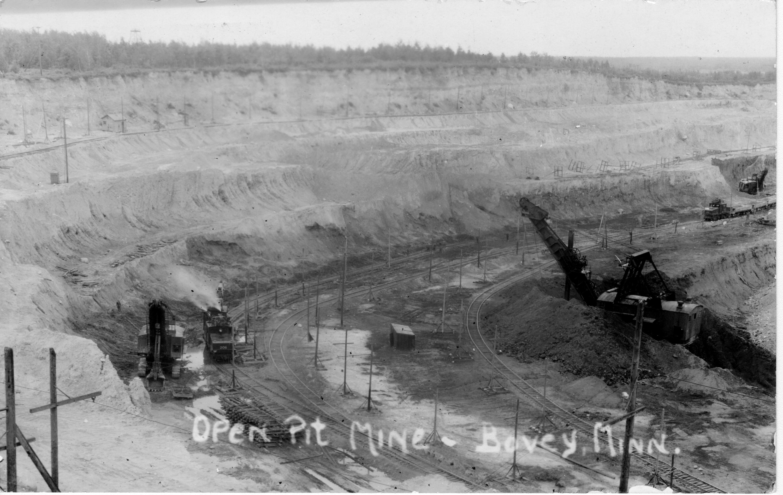 Open Pit Mine, Bovey
