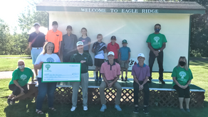 Greenway Area Community Fund Presents Grant to Eagle Ridge Junior Golf