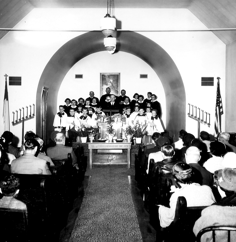 P Inside Presbyterian Church