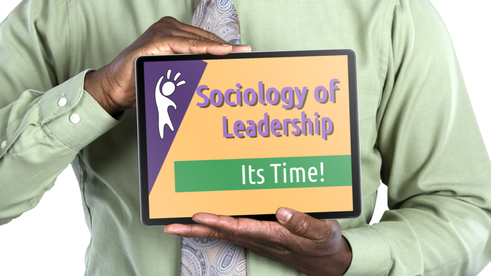 Sociology of Leadership I learned years ago in my studies of sociology that it can only have meaning if it leads us to understand social phenomena and affords us with ways and means of controlling them. One can argue, as before, that sociology will continue to serve as a science of prediction, control, and analysis; however, with a small twist in that sociology of leadership can help add to the social thought of today by entertaining the relationships between sociology and leadership. One of my arguments for a sociology of leadership argues from a position that one must first lead self before an individual can lead others. Nevertheless, the socialization process that one goes through in life has a dramatic impact on one's leadership ability. Although there is an understanding that social institutions are the basis for growth in society, we must realize that the education harvested from our experience with these organizations helps to facilitate our social interactions which start at birth and continues as we get older and become adult leaders. Realizing that it is our parents (under the heading of the family institution) who first socialize us, this process continues to evolve as we get older and start to interact with others outside the family structure. Simply put, it is the belief that everything we do in society involves some leadership rather it is by self or others who might control our various situations.   I must also admit that of all the founding fathers of sociology, Max Weber is the one that comes close to an argument concerning the concept of leadership with his writings on power and authority. Even when Karl Marx talked about power, he centered it on the collectivity of people. In others words, he believed the as a whole people had the power or ability to take control of their destiny, and change society. With this assertion, my premise would be that to make it happen; someone must be elevated to a position of leadership to lead the charge. Marx concer