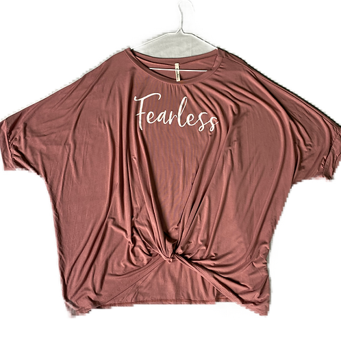 Pink Fearless Top