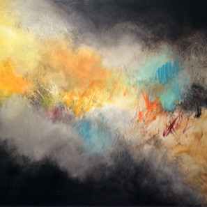 """Autumn Storm 36"""" x 48"""" $1600"""