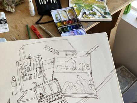 Sketching in