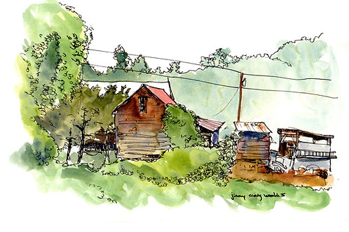 Brevard View. Brevard,NC Sketch