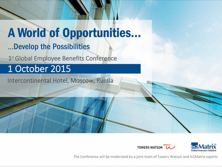 1st Global Employee Benefits Conference