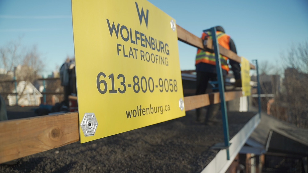 safety in flat roofing