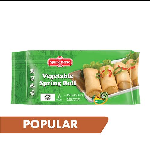 Vegetable Spring Roll 6 pcs