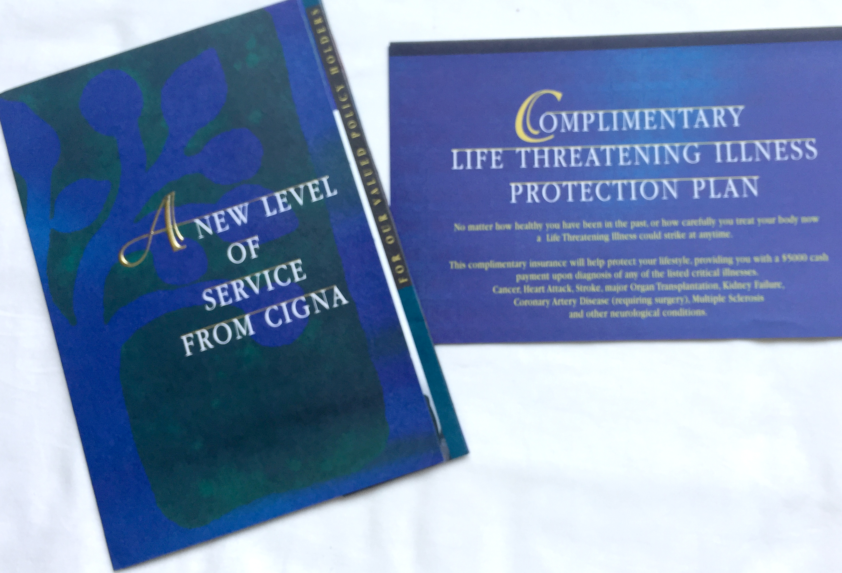 Cigna Insurance - Direct Mail