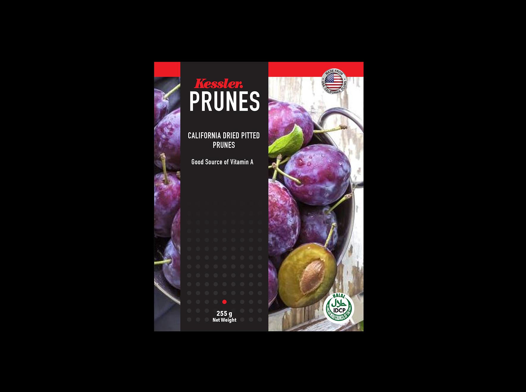 Kessler Foods - Prunes Packaging