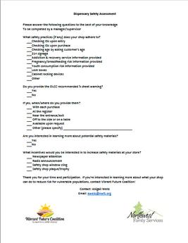 Retail Shop Questionnaire
