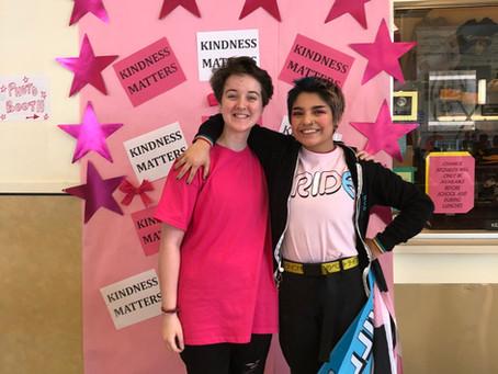 KATU News: Students Wear Pink to Spread Kindness