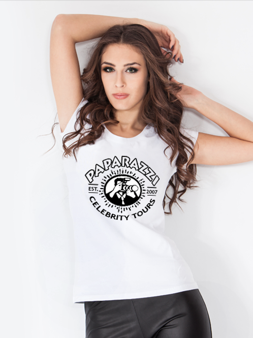 Paparazzi Tour Souvenir Graphic T-Shirt Women's