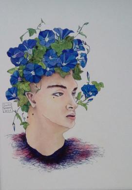 Homme plante - volubilis N°1