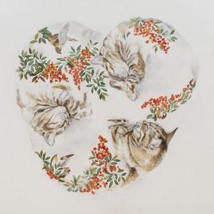 Rêve de chat IV automne