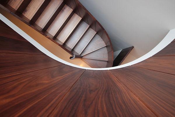 Joe Mellows Walnut Stair 5.JPG