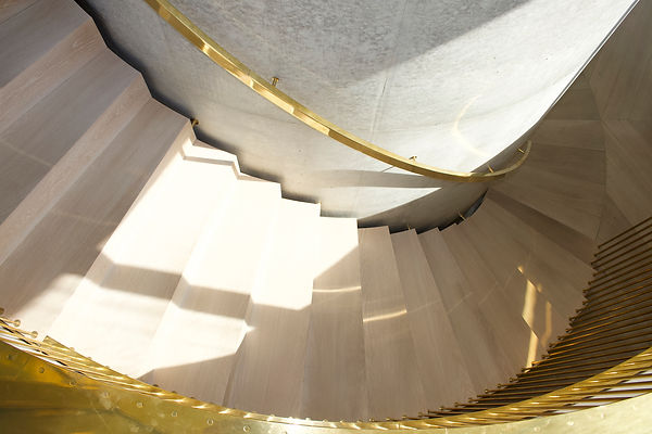Joe Mellows Coombe Park Helical Stair 5.