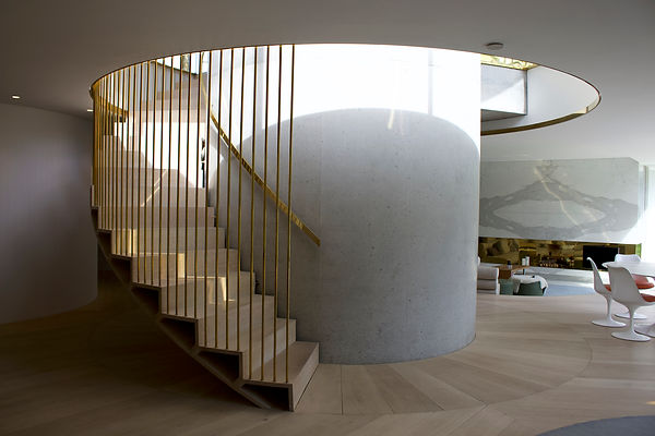 Joe Mellows Coombe Park Helical Stair 1.