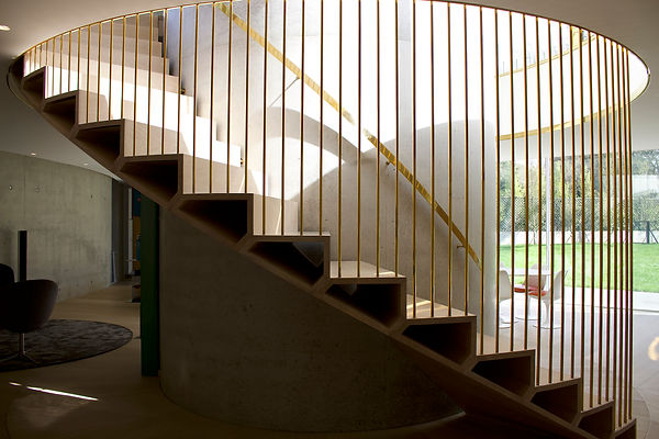 Joe Mellows Coombe Park Helical Stair 2.