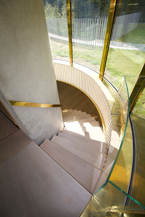 Joe Mellows Coombe Park Helical Stair 3.