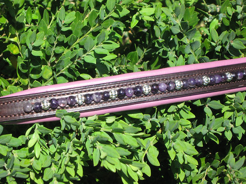 Browband w/ mixed beads