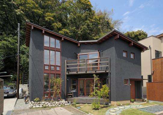 鎌倉大町の家
