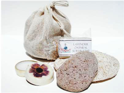 Natural Cotton Jute Spa Bag