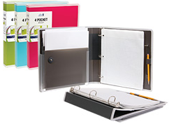 DocIt 4 Pocket Binder