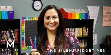 Jennifer Hobbs: Founder of Mesh-It - The Silent Fidget Pen
