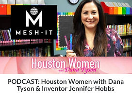 Mesh-It The Silent Fidget Pen Featured on Houston Women with Dana Tyson