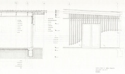 Wall section + elevation