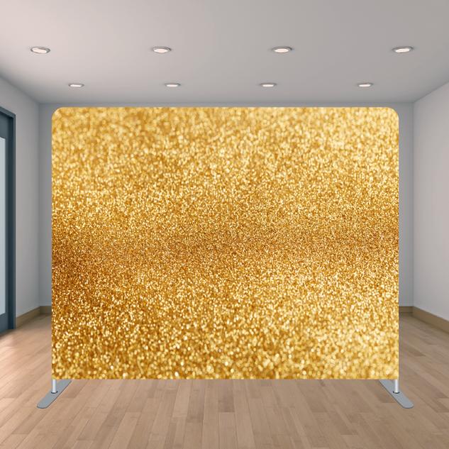 Premium Gold Glitter Backdrop