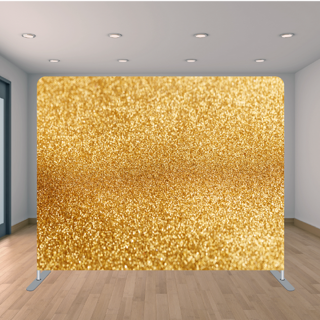 Premium Gold Glitter Backdrop
