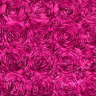 Hot Pink Rosette Backdrop