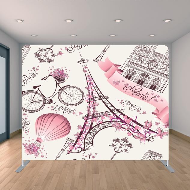 Premium Paris Backdrop