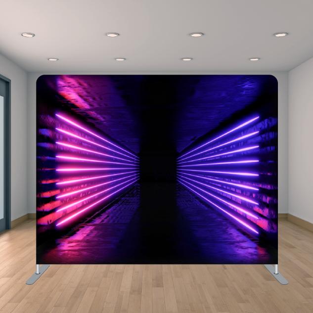 Premium Neon Tunnel Backdrop