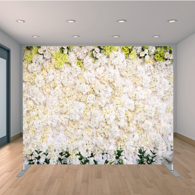 Premium Floral Backdrop
