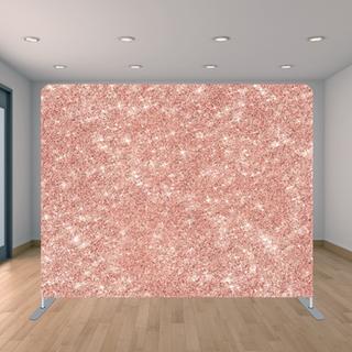Premium Rose Gold Glitter Backdrop