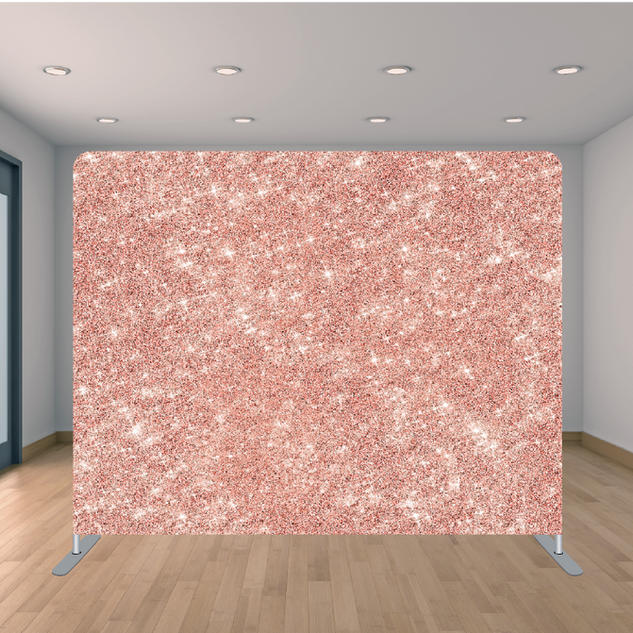 Premium Rose Gold Glitter Backdrop