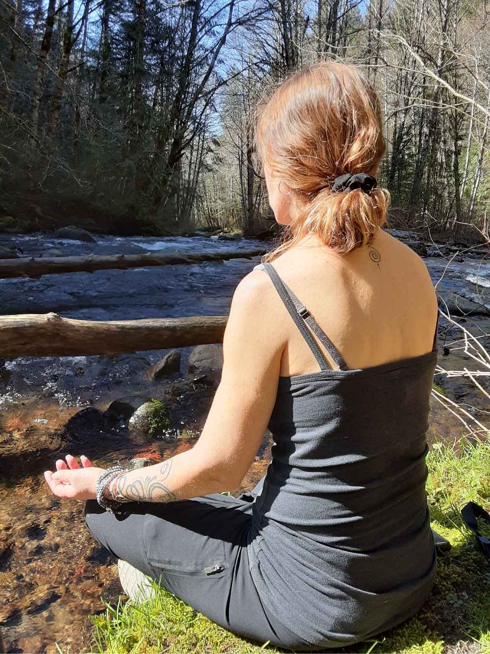 Spiritual practice in the Mt. Hood National Forest