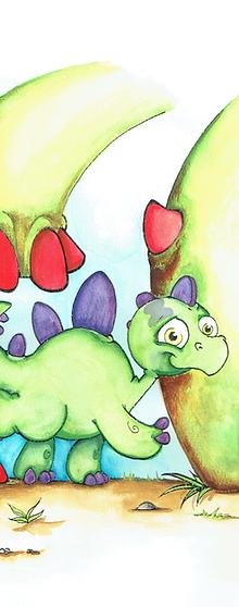 Mist the Little Stegosaurus