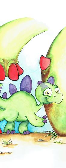 Brume le petit stégosaure