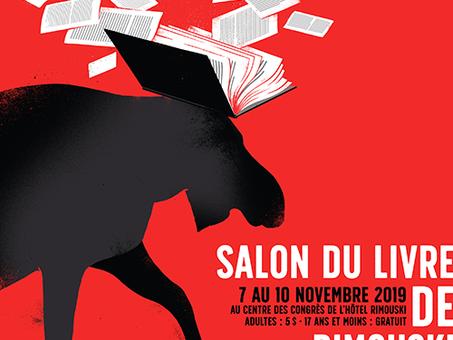 Les célèbres anonymes au Salon du livre de Rimouski du 7 au 10 novembre 2019