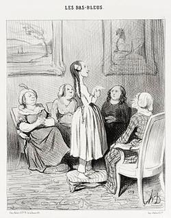 Bas bleus de Daumier