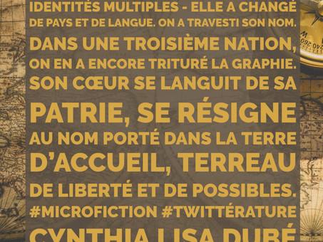 Identités multiples - microfiction de Cynthia Lisa Dubé