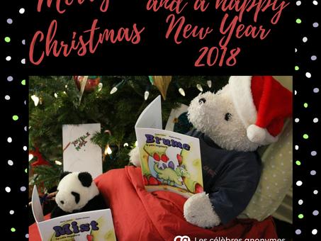 Joyeux Noël et Bonne année 2018!