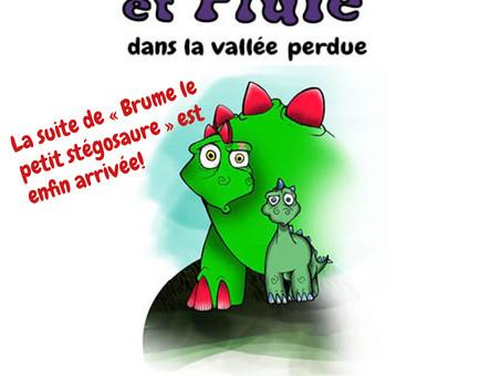 """La suite de """"Brume le petit stégosaure"""" dès le 20 octobre!"""