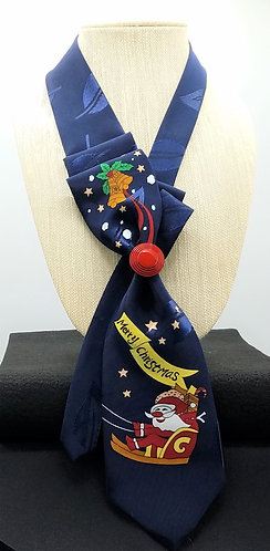 Christmas Necktie Scarf