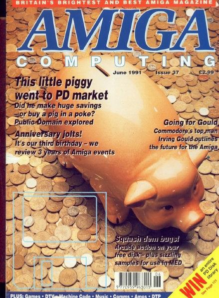 Amiga Computing June 1991