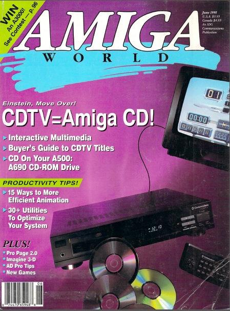 Amiga World June 1991